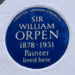 Sir William Orpen