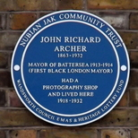 John Archer - Battersea Park Road