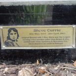Marc Bolan shrine - plaque - Currie