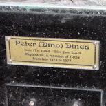 Marc Bolan shrine - plaque - Dines