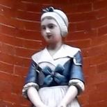 St John of Wapping  - charity girl
