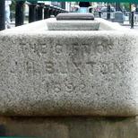 Buxton water trough - Hyde Park