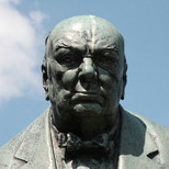 Churchill statue - Woodford Green
