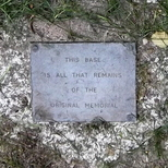 Walworth Boy Scouts Tragedy - original memorial