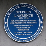 Stephen Lawrence  - Deptford