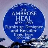 Sir Ambrose Heal