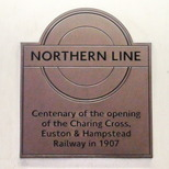Northern Line (part) centenary - Tufnell Park