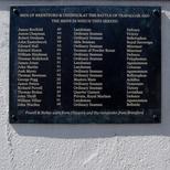 Battle of Trafalgar - Brentford war memorial