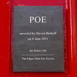 Edgar Allan Poe - N16 - Plaque 2