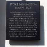 Stoke Newington Town Hall