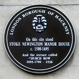 Stoke Newington Manor House