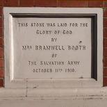 Hackney Salvation Army - 2 - Mrs Bramwell Booth