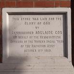 Hackney Salvation Army - 4 - Adelaide Cox