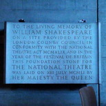 National Theatre foundation - 1951