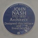 John Nash terrace - WC1 - EH