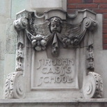 Sir John Cass Foundation, Aldgate - west corner