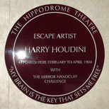 Hippodrome - Harry Houdini