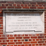 South London Hospital for Women - Foundation Stone