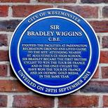 Sir Bradley Wiggins - Paddington Rec