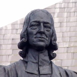 John Wesley statue - City Road