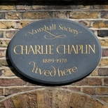 Charlie Chaplin - Kennington Road
