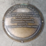 Battersea Park bandstand