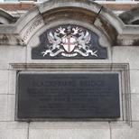 Blackfriars Bridge - plaque