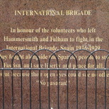 Hammersmith and Fulham International Brigade