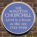Winston Churchill - Sussex Square