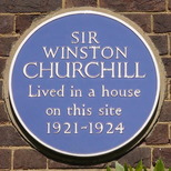 Winston Churchill - Sussex Square