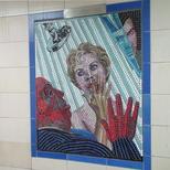 Hitchcock mosaics 07 - Psycho, 1960