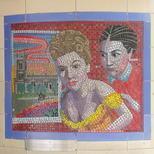 Hitchcock mosaics 09 - Rebecca, 1940