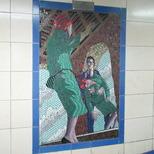 Hitchcock mosaics 15 - Vertigo, 1958