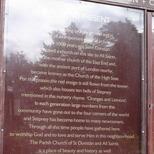 St Dunstans - noticeboards