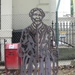 Mary Seacole steel statue