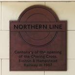 Northern Line (part) centenary - Belsize Park