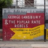 Poplar Rate Rebels mural - 1