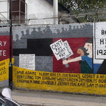 Poplar Rate Rebels mural - 2