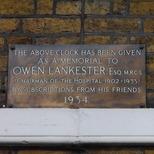 Lankester plaque