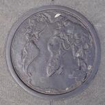 Bowler plaque - World Map