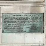 Christ Church Spitalfields - western entrance
