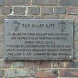 Camp Griffiss - SHAEF Gate
