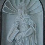 St Mary's trompe l'oeil - Hamilton
