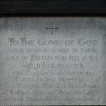 Queen's Gate WW1 memorial