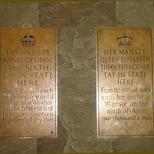 Westminster Hall - King George VI & Queen Elizabeth