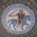 King John mosaic
