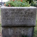 W. Ward drinking trough