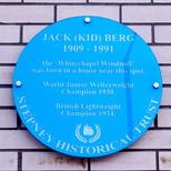 Jack (Kid) Berg - Burlington Court
