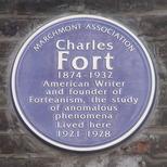 Charles Fort - blue