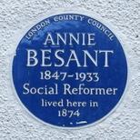 Annie Besant - SE19